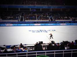 Sochi 2014: Half-Empty Stadium for Russian Figure Skating Star